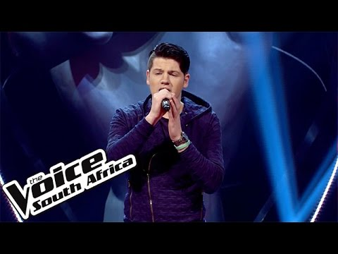 Johan Anker sings 'Hallelujah'   The Blind Auditions   The Voice South Africa 2016