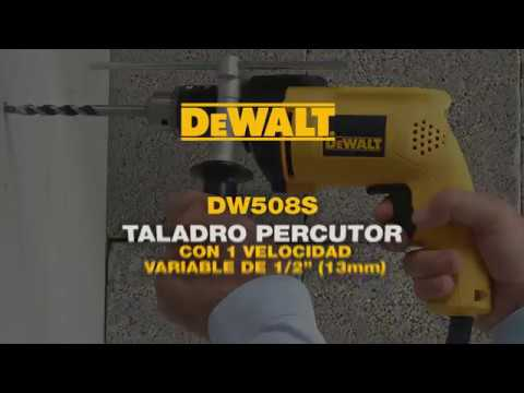 TALADRO DEWALT DW508S 13MM 800W 220V C/PERC.