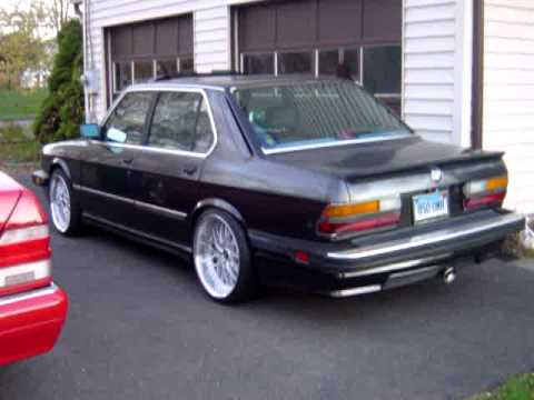 1987 Bmw 535is E28 W Bbs Spoilers 19 Work Rezax Rsii Staggered
