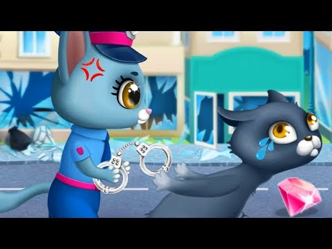 Fun Pet Care Kids Games - Kitty Meow Meow City Heroes - Cats To The Rescue - Save The Cute Animals