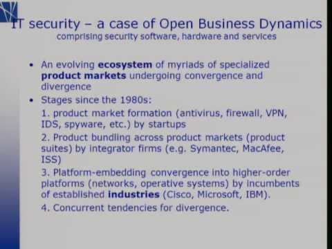 Topics in Open Innovation: Jens Froslov Christensen - Copenhagen Business School