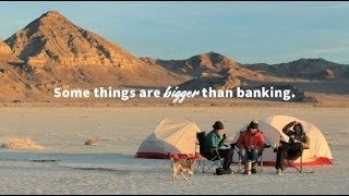 Some things are bigger than banking