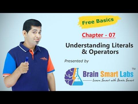 07-Understanding Literals & Operators
