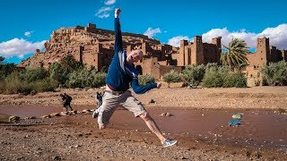 Ait Benhaddou - Where Hollywood Films are made (and still being made) - Morocco Episode 07