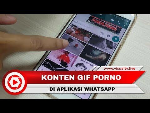 Konten Porno GIF Hebohkan Pengguna WhatsApp Indonesia