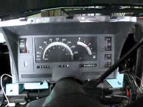 1990 chevy silverado k1500 wiring diagram s 10 dash re done youtube 1991 k1500 wiring diagram
