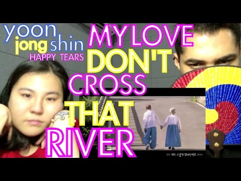 윤종신 (Yoon Jong Shin) - 행복한 눈물 (Happy Tears) REACTION From my love don't cross that river