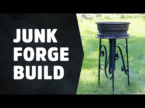Charcoal Forge - Building a blacksmith's forge  - HNB #9