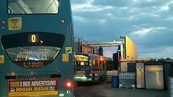 Arriva - Green lane - Liverpool, UK- Bus wash - Timelapse