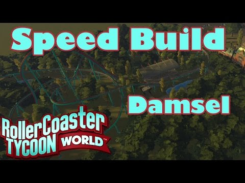 RollerCoasterTycoon World Coaster Speed Build Damsel |