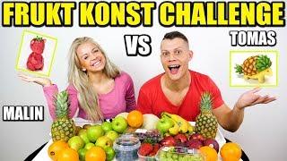 FRUKT- KONST CHALLENGE *TOMAS VS MALIN*