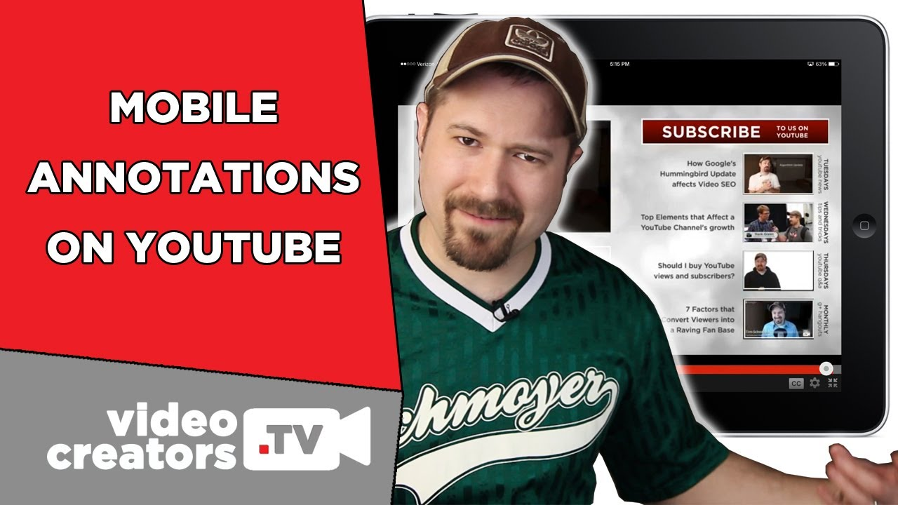 Mobile Annotations Are Finally On Youtube!!