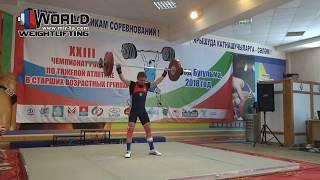 ЗАХАРОВ/ZAKHAROV (69,М-45) 84-88-91/115-118-121. Russian Championships Masters -2018.