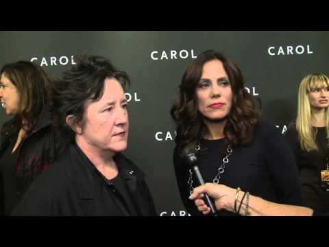 Carol: Producers Christine Vachon & Elizabeth Karlsen New York Red Carpet Premiere Interview