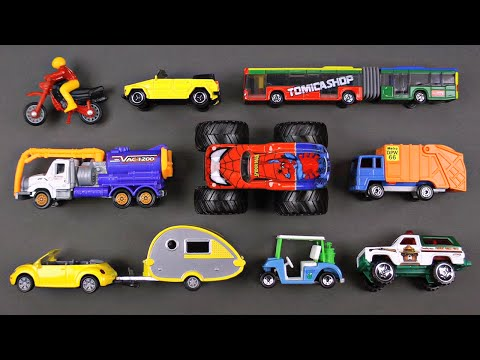 Learning Street Vehicles for Kids #9 - Cars and Trucks by Hot Wheels, Matchbox, Tomica トミカ, Siku