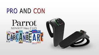 Review Parrot Minikit Neo 2 HD ITA [SUB ENG]