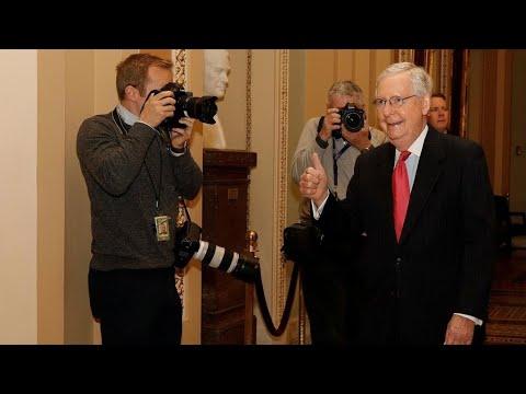 Aux États-Unis, le Sénat adopte un plan de relance massif pour faire face au coronavirus