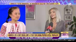 Dorian Popa și Alina Eremia, impresionați de povestea Jessicăi și a lui Răzvan