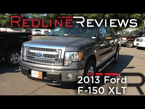 2012 Ford F 150 Xlt >> 2013 Ford F-150 XLT Review, Walkaround, Exhaust, Test ...