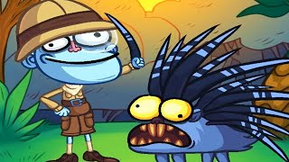 Troll Face Quest: Silly Test 3 - All Secret Levels  Funny Trolling Best Moments