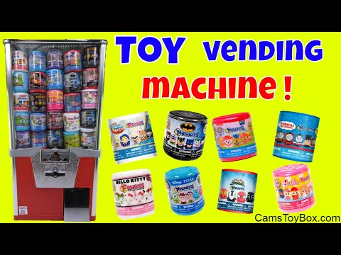 Toy Vending Machine Mashems Fashems...
