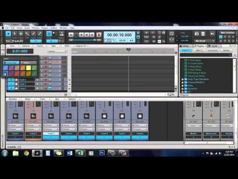 Sonar Platinum: How to customize colors and track icons