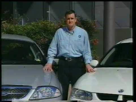 Ford AU Falcon launch story (Ten news 1998 report)