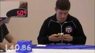 world record rubik's cube : 2x2 3x3 4x4 5x5 6x6 ( 2013 )