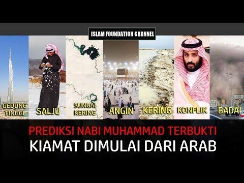 Prediksi Nabi Muhammad Terbukti, Kiamat Dimulai Dari Tanah Arab