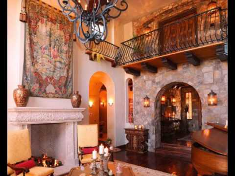 Spanish-Style Decorating Ideas - YouTube