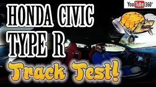Honda Civic Type R Track Test Monticello - 360º VR