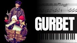 Gurbet (Çöpçüler Kralı Film Müziği) [Piyano]+[Nota]+[Karaoke]