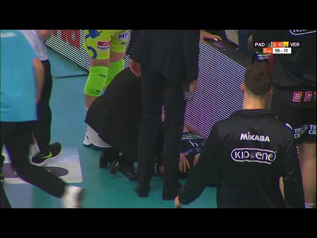 Volley: Louati si scontra contro i led a fondo campo