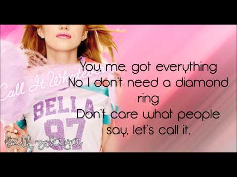 Bella Thorne - Call It Whatever [Lyrics HD]