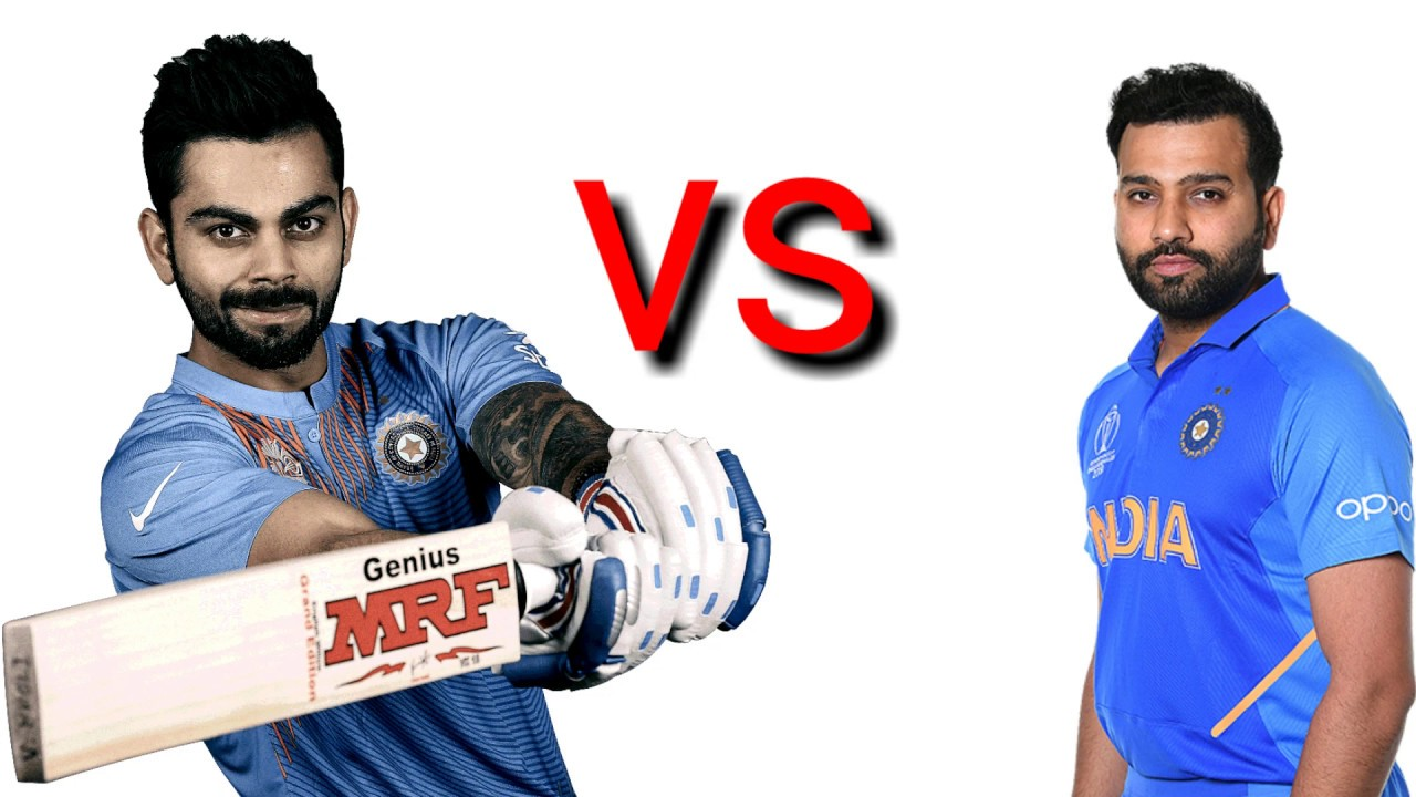 Caparison between Virat kohli Vs Rohit Sharna  who is best