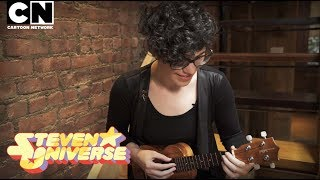 "Steven Universe | Rebecca Sugar performs ""What's the Use of Feeling (Blue)"" 