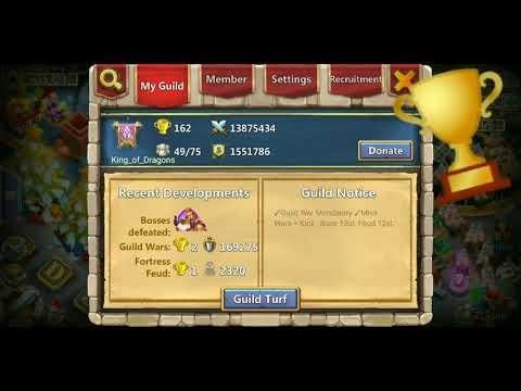 Castle Clash Infernal Summit 4/ Only 2 Pleyers Win