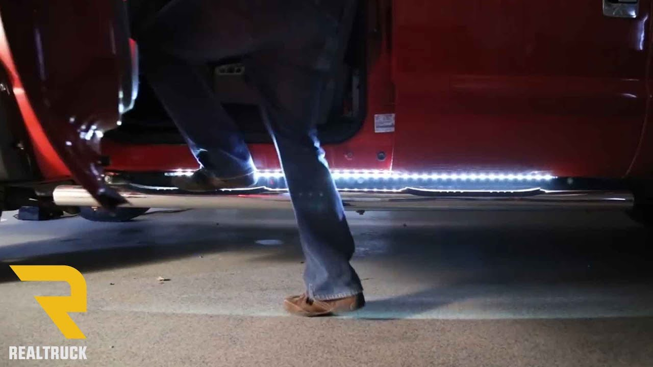 How To Install Recon Big Rig Ice W Amber Led Running