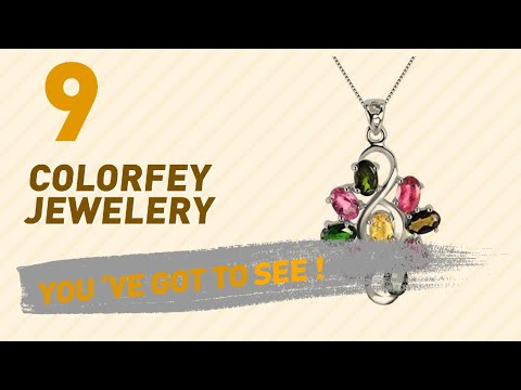 Colorfey Jewelery Collection For Women // UK New & Popular 2017