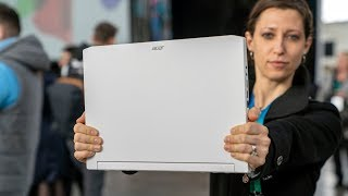 Concept D7 Hands-On Review // Acer Triton 500 in White!
