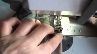 видео Швейные строчки | Основные виды строчек и операций швейной машины