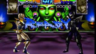 Dual Heroes [Virtual Arcade] Gyn vs Retsu