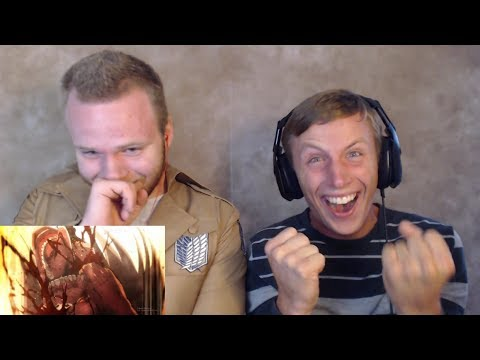 SOS Bros React - Attack on Titan Season 2 Episode 12 - NOW THAT'S A FINALE!!!
