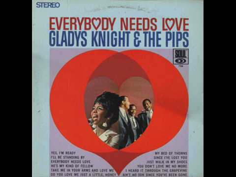 I Heard It Through The Grapevine - Gladys Knight & The Pips '1967