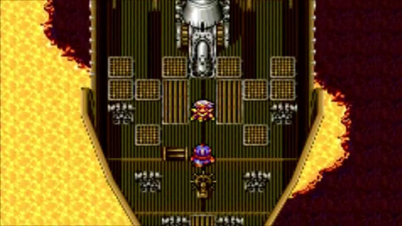 Final Fantasy 4 Advance (GBA) Part 21 Cid's Sacrifice and The Eblan Castle Ruins - YouTube