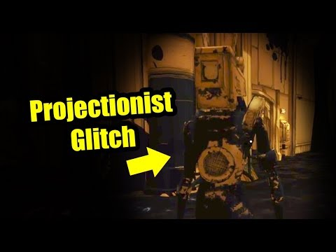 Projectionist Glitch - Bendy and the Ink Machine Chapter 3