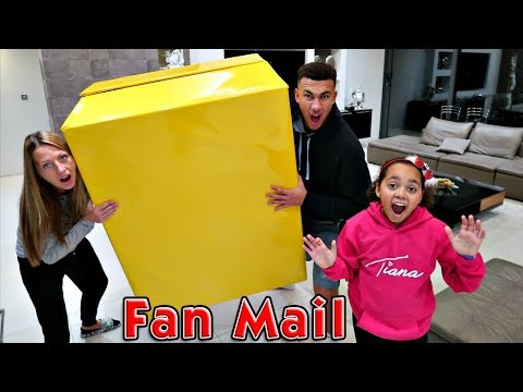 Giant Surprise Toy Box! Presents From Fans  LOL Surprise Dolls  Squishy Toys