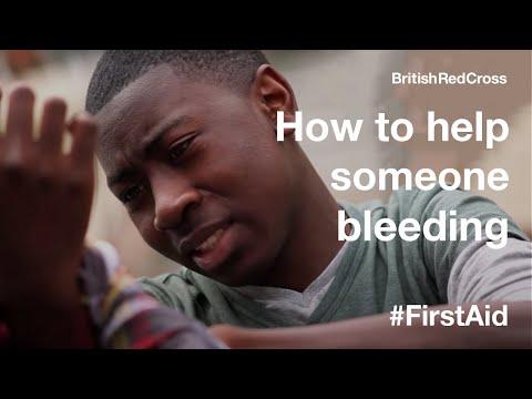 First Aid: Bleeding heavily