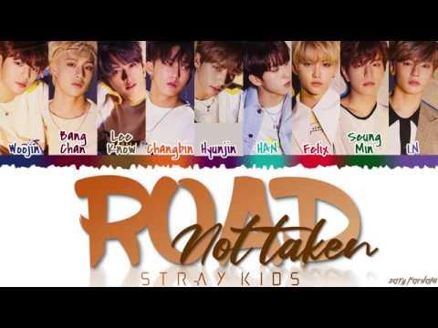 STRAY KIDS - 'ROAD NOT TAKEN' (밟힌 적 없는 길) Lyrics [Color Coded_Han_Rom_Eng]