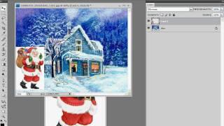 Совмещение двух изображений в Photoshop (26/40)
